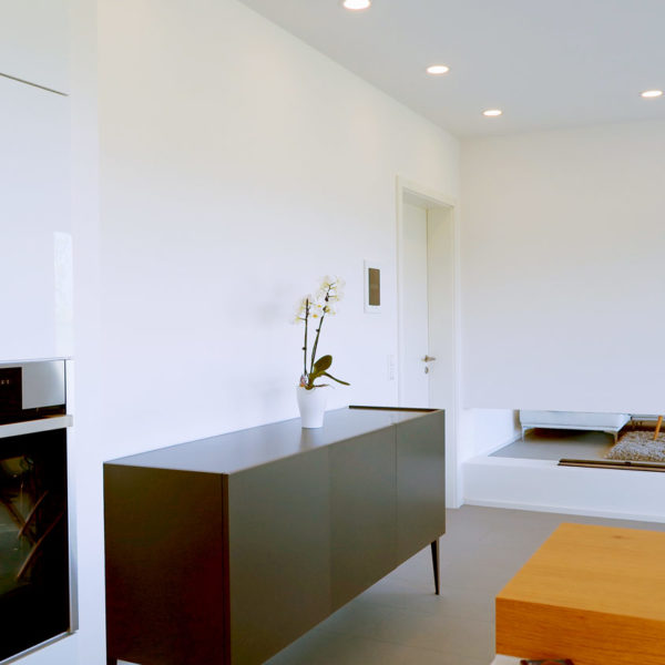 Komplettinstallation eines Neubau Einfamilienhauses in Michelfeld
