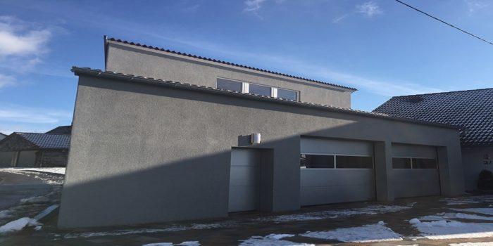 Referenz - elektrische Garageninstallation in Bibersfeld