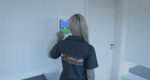 Komplettinstallation eines Neubau Einfamilienhauses, Smart Home Technik