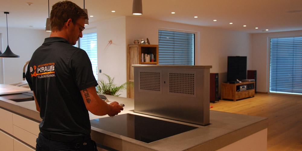 Mobotix Zugriffskontrolle und Kameras, Crestron Smart Home System, Bose Multiroom Audio Anlage