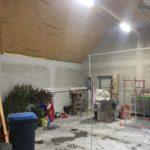 kostengünstige elektrische Garageninstallation